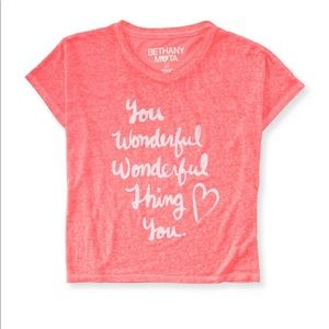 """""""You Wonderful, Wonderful thing You"""" Loose Fit Top"""